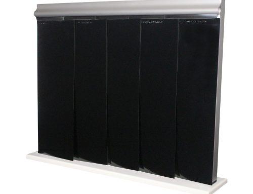 Reinraumvorhang schwarz